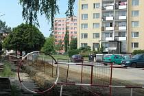 Ulice Generála Píky v Olomouci-Neředíně