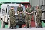 Flying Rhino na Libavé: britští vojáci