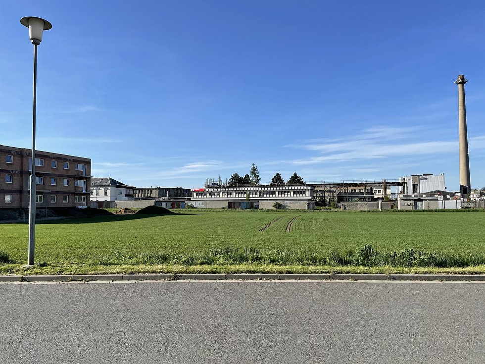 V Severní ulici v Litovli vyroste vyroste bytový komplex. Stavět může společnost FORblock, 9. května 2021
