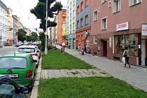 Masarykova třída v Olomouci, září 2021