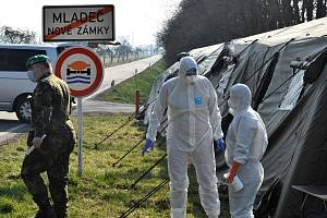 Uzavřená Litovel během koronavirové pandemie