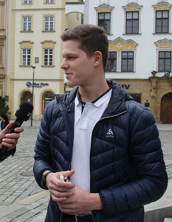 Olomoucký kordista Jakub Jurka postoupil na OH 2021 v Tokiu.