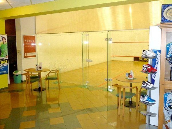 Trio tenis a squash centrum Hvozdná