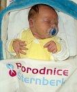 Jakub Prucek, Stará Ves, narozen 6. dubna ve Šternberku, míra 51 cm, váha 4240 g