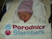 Sebastian Matura, Bludov, narozen 7. ledna, míra 46 cm, váha 2220 g