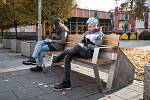 Tzv. chytrá lavička s wi-fi a dobíjením v Ostravě