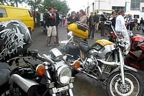 Sraz motorkářů ve Věrovanech
