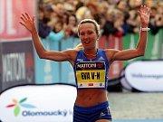 Olomoucký půlmaraton 2018: nejlepší Češka Eva Vrabcová Nývltová