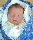 Tomáš Urban, Dolany, narozen 15. srpna ve Šternberku, míra 48 cm, váha 2820 g