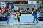 V Olomouci proběhl ve velkém horku další ročník půlmaratonu. Stanley Biwott