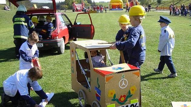 Akce dobrovolných hasičů z Dubu nad Moravou