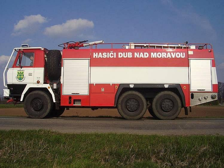 Dobrovolní hasiči z Dubu nad Moravou