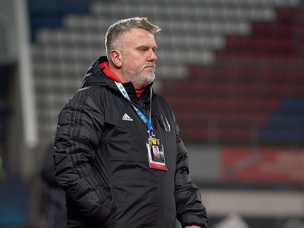 Asistent trenéra Sigmy Jiří Saňák