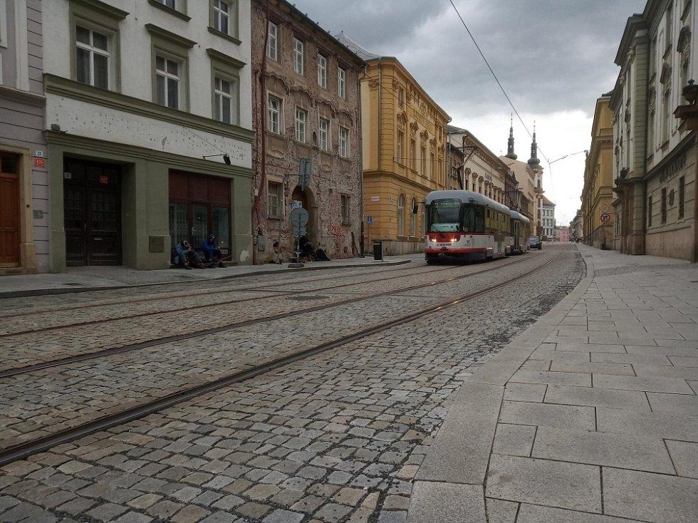 Filmová místa v Olomouci. Třída 1. máje, Olomouc.