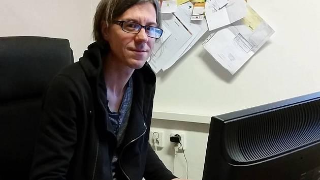 Dušan Gajdošík, kontaktní a terénní pracovník olomoucké neziskové organizace Podané ruce