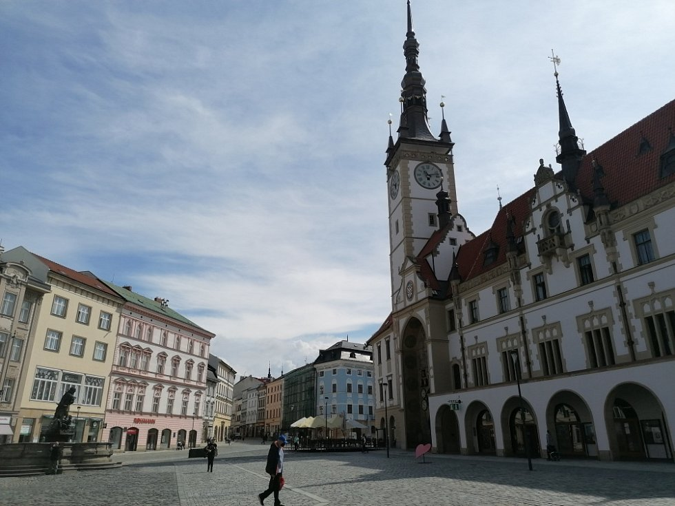 Filmová místa v Olomouci. Olomoucká radnice