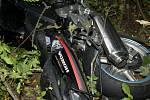 Tragická nehoda motocyklisty u Bílé Lhoty