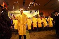 Imatrikulace Pivologické fakulty na olomouckém Pivním plese