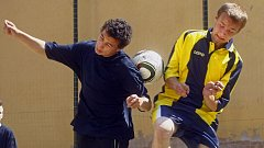Pouliční fotbal. Ilustrační foto