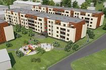 V areálu bývalého podniku AOZ v Olomouci vytyčeného ulicí Na Šibeníku a třídou Míru chce po demolicích společnost JTH Holding postavit byty, obchody a kanceláře