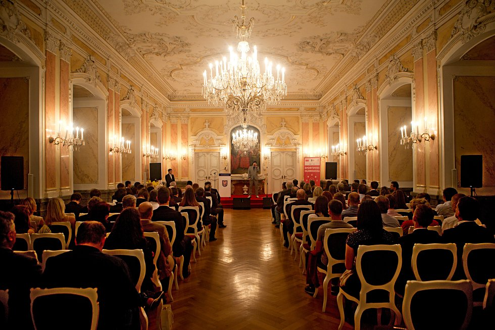 Vyhlášení nejlepších sportovců Olomoucka za rok 2019 v Arcibiskupském paláci