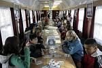 Preventivní vlak v Olomouci
