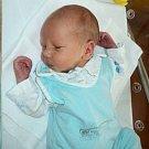 Šimon Vícha, Litovel, narozen 27. března ve Šternberku, míra 47 cm, váha 2880 g