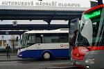 Autobusové nádraží v Olomouci. Ilustrační foto