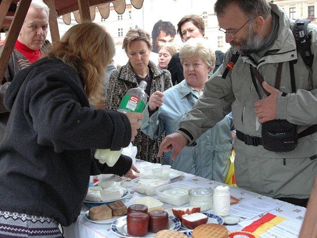 Olomoucký biojarmark na Horním náměstí