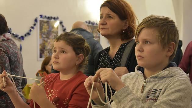 Patnáctý ročník Oživlých řemesel v litovelském muzeu, 26. 12. 2019
