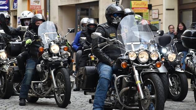 Zahájení motorkářské sezony na Horním náměstí v Olomouci, 5. 5. 2019