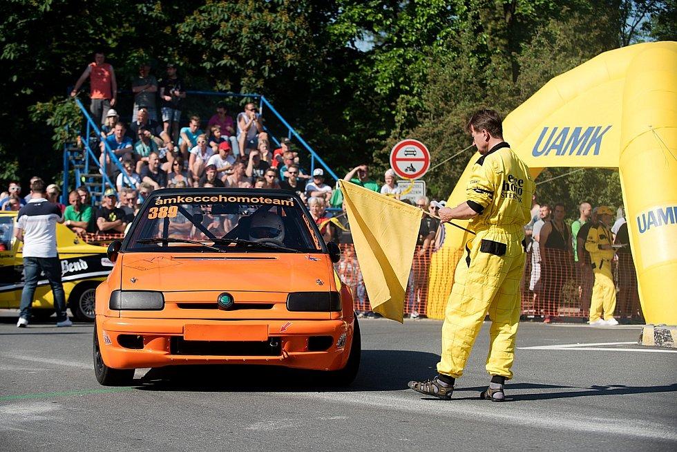 39. ročník závodu mistrovství Evropy automobilů do vrchu a na legendární trati Ecce Homo,