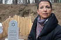 Eva Vavrečková, dcera Felicitas Wolfové, která přežila válku v úkrytu poblíž Tršic na Olomoucku