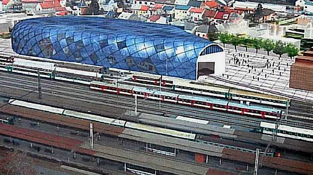 Studie železničního muzea v Olomouci.