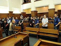 Soud s vítkovskými žháři. Ilustrační foto