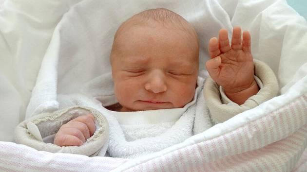 Anežka Nováková, Olomouc narozena 22. dubna, míra 49 cm, váha 2980 g