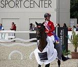 Vítězka Grand Prix Olomouc Jörne Sprehe z Německa.