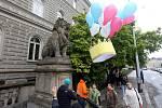 Demonstrace za nezávislost justice v Olomouci, 13. 5. 2019