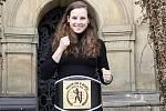 Dominika Čiklová titul v kategorii do 60 kg a do Olomouce si přivezla mistrovský pás.
