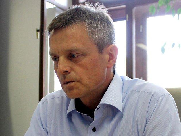 Josef Podstata při on-line rozhovoru pro Deník