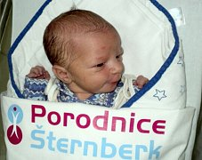 Filip Horák, Chromeč, narozen 28. listopadu ve Šternberku, míra 50 cm, váha 3440 g