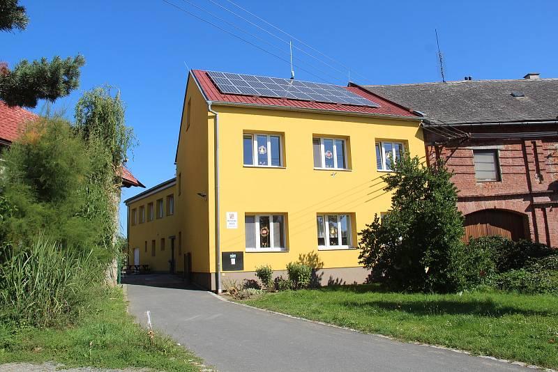 Bukovany. Opravená mateřská škola