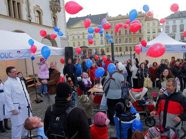 Oslavy 115 let fakultní nemocnice na Horním náměstí v Olomouci