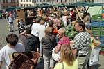 Farmářské trhy v Olomouci