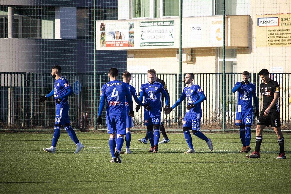 Olomoucká Sigma doma remizovala v přípravném utkání doma s Ružomberkem 1:1.