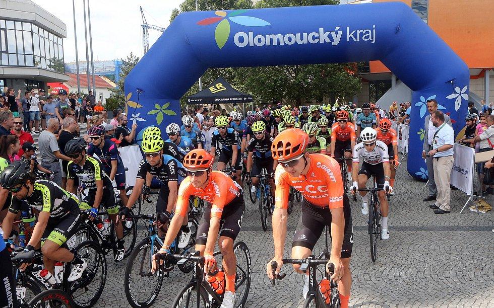 Start Czech Cycling Tour 2019 v Olomouci