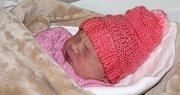 Sofie Skýbová, Olomouc, narozena 9. února v Olomouci, míra 50 cm, váha 2850 g