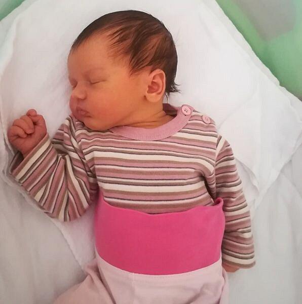 Tamara Obrátilová, Lutín narozena 26. prosince váha 3870 g