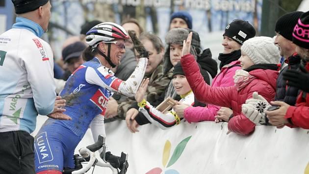 V Uničově se konal poslední závod českého poháru v cyklokrosu. Kateřina Nash