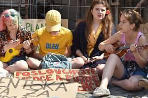 Stávka proti změně klimatu klimatu v Olomouci, 7. 6. 2019